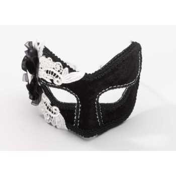 Skeleton Lace Half Mask