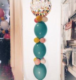 Balloon Tower ($12.00 plus cost of Mylar Balloon)