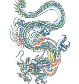 Extra Large Fx Dragon Tattoo