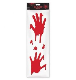 Asylum Bloody Hands Long Gel Clings