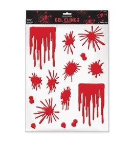 Asylum Blood Splats & Drip Gel Clings