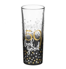 """50"" Shot Glass"