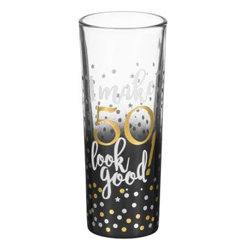"""""""50"""" Shot Glass"""