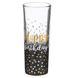 """""""Happy Birthday"""" Shot Glass"""