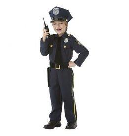 Children's Costume Police Officer Small (4-6)