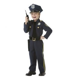 Children's Costume Police Officer - Large (12-14)