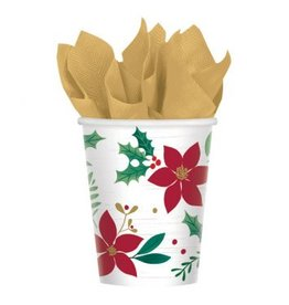 Christmas Wishes Paper Cup 9 oz. (8)
