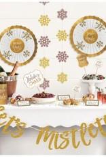 Let's Mistletoe Deluxe Buffet Decorating Kit