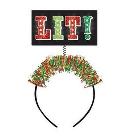 Lit! Light-Up Headband