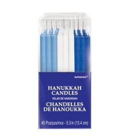 Hanukkah Candles Multi-Pack (45)