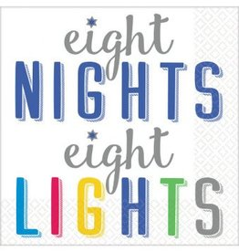 8 Nights, 8 Lights Beverage Napkins (16)
