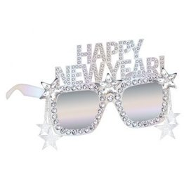 Disco Ball Drop Happy New Year Glasses