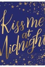 Kiss Me at Midnight Beverage Napkins (16)