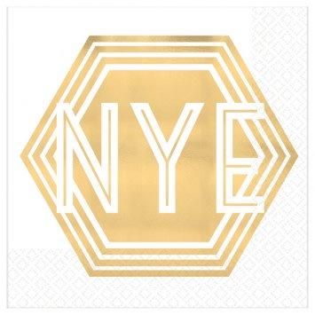 New Year's Eve Beverage Napkins (16)
