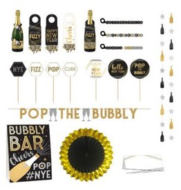 Deluxe Bubbly Bar Decorating Kit