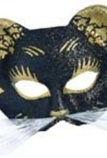 Mask Gattoni Glitter Black and Gold