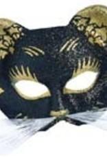 Mask Gattoni Glitter Black and Gold