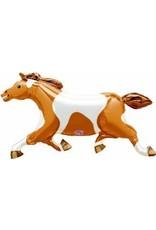 "Painted Pony Horse 41"" Mylar Balloon"