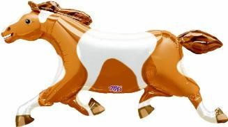 "Painted Pony Horse 41"" Mylar Balloon"