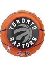 "Toronto Raptors 18"" Mylar Balloon"