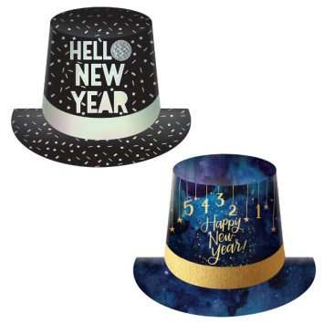 Disco/Midnight Top Hat Assortment