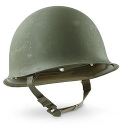 Army Helmet With Chin Strap
