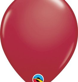 "11"" Maroon Qualatex Latex Balloon 1 Dozen Flat"