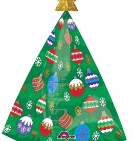 "Christmas Tree 29"" Mylar Balloon"