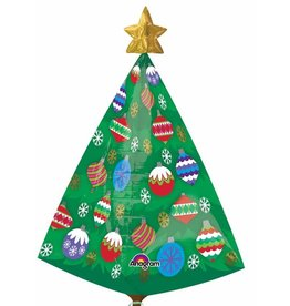 "Christmas Tree 29"" Mylar Balloon"