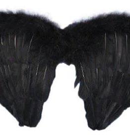Mini Black Feather Wings