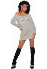 Women's Costume Flashdance Standard (14-16)