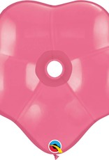 "16"" Geo Blossom Rose Balloon Flat"