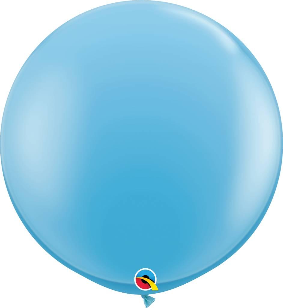 """36"""" Balloon Pale Blue Flat"""