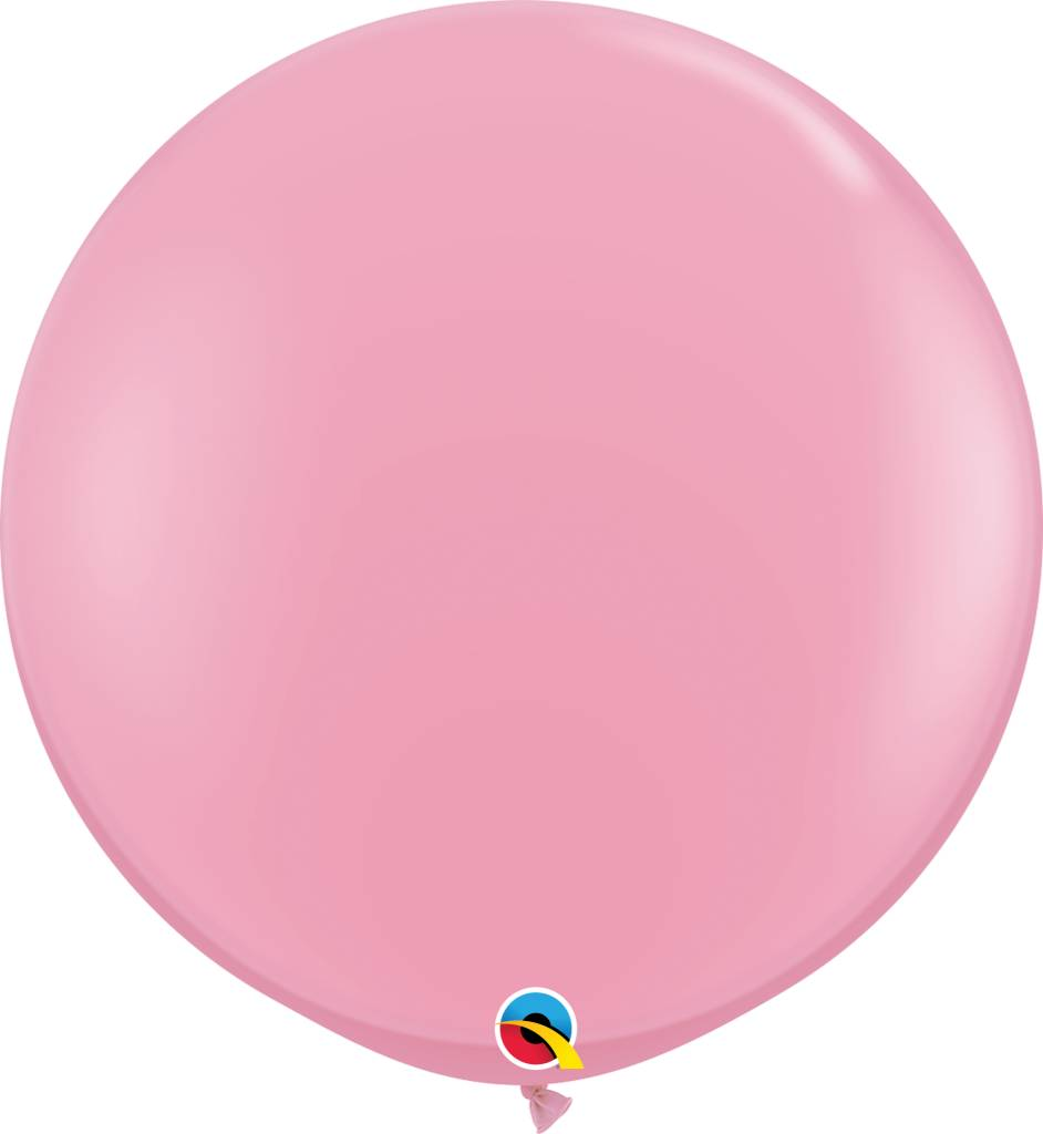 "36"" Balloon Pink Flat"
