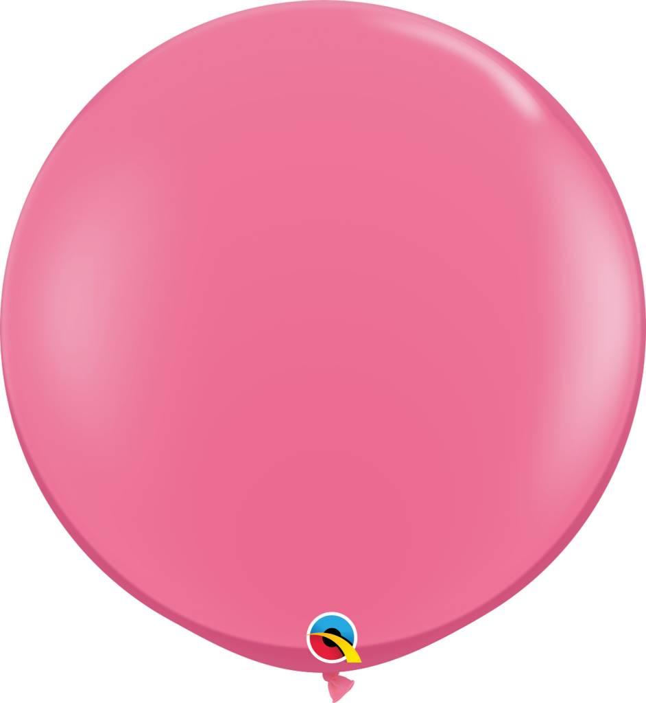 "36"" Balloon Rose Flat"