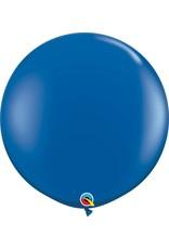 "36"" Balloon Sapphire Blue Flat"