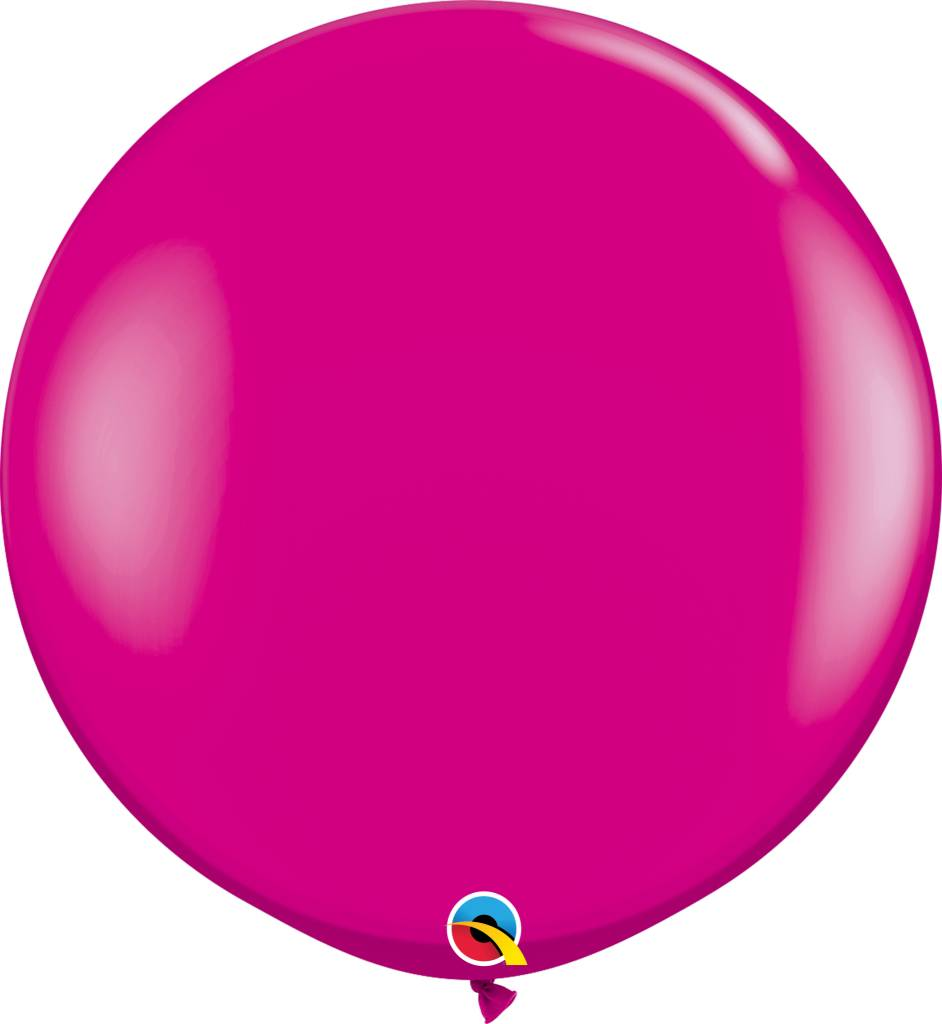 "36"" Balloon Wild Berry Flat"