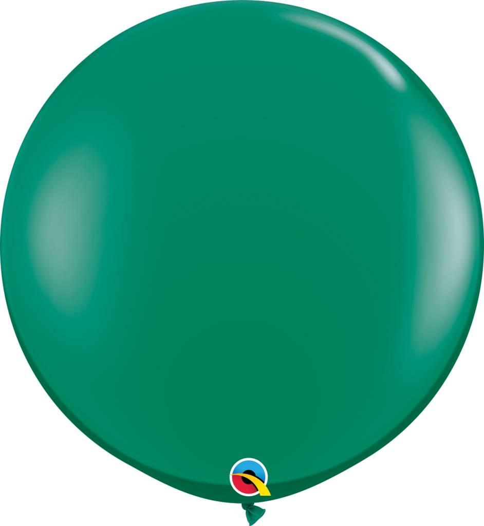 """36"""" Balloons Emerald Green Flat"""