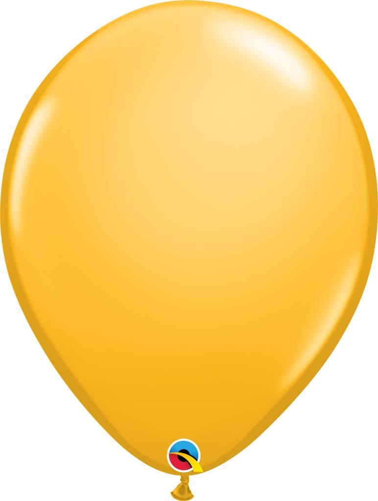"16"" Balloon Goldenrod 1 Dozen Flat"