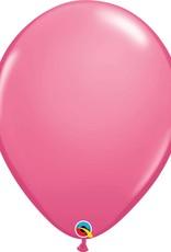 "16"" Balloon Rose 1 Dozen Flat"
