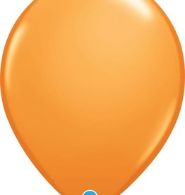 "16"" Balloon Orange 1 Dozen Flat"