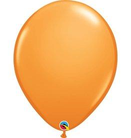 "16"" Balloon Orange 1 Dozen Flat"
