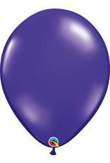 "16"" Balloon Quartz Purple 1 Dozen Flat"