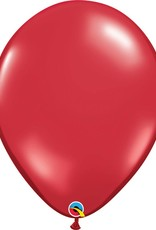 "16"" Balloon Ruby Red 1 Dozen Flat"