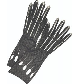 Adult Deluxe Black Panther Gloves and Claws