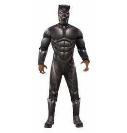 Men's Costume Black Panther Deluxe XL