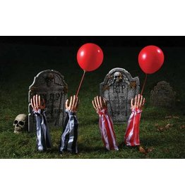 Creepy Clown Grave Breaker Red/White