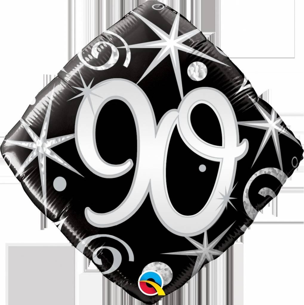 "90 Elegant 18"" Mylar Balloon"