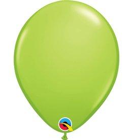 "16"" Balloon Lime Green 1 Dozen Flat"