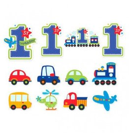 All Aboard Boy Value Pack Cutouts